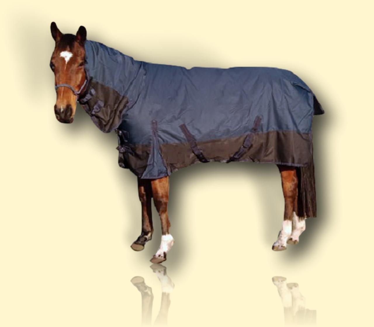 900 Denier Outdoor waterproof Horse Combo Rug 250g fill Winter Rug,