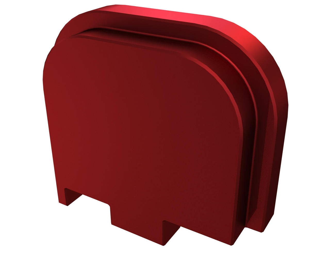 Rowe Tactical Glock Rear Slide Cover Plate G43 G43x G48 - Red