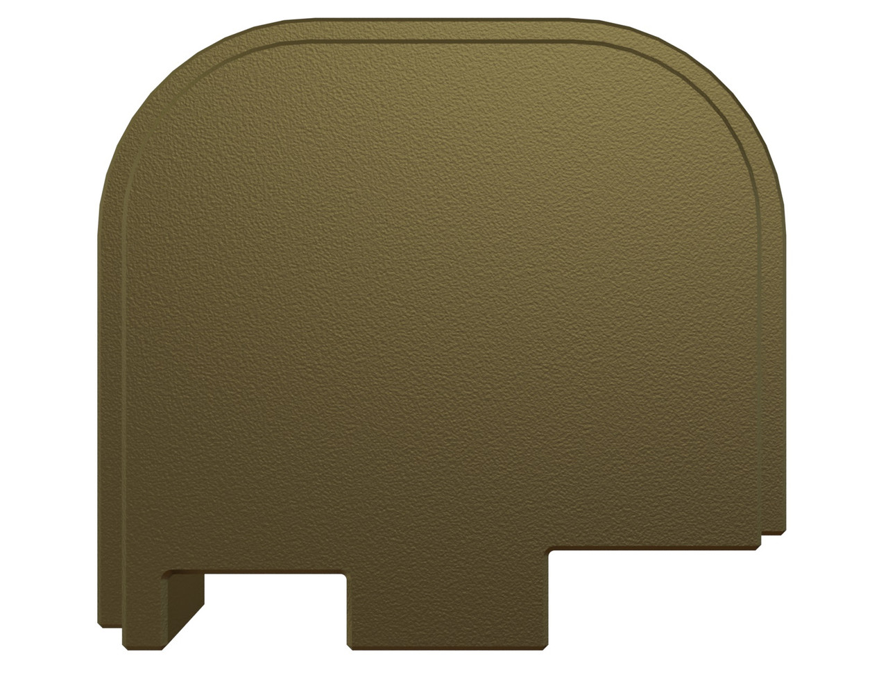 Rowe Tactical Glock Rear Slide Cover Plate G43 G43x G48 - Olive Drab Green