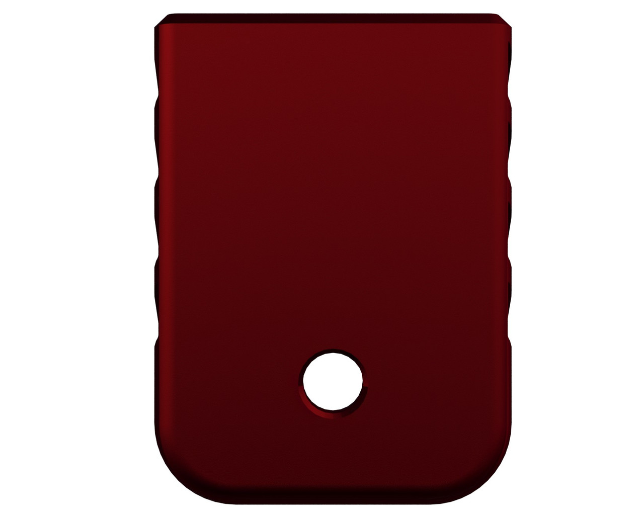 Rowe Tactical Glock Gen 1-5 Magazine Base Plate - Red - (Angle)