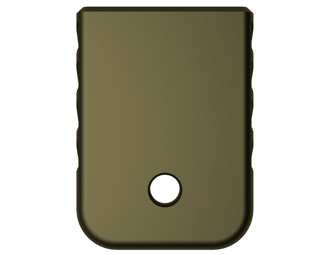 Rowe Tactical Glock Gen 1-5 Magazine Base Plate - Olive Drab- (Angle)