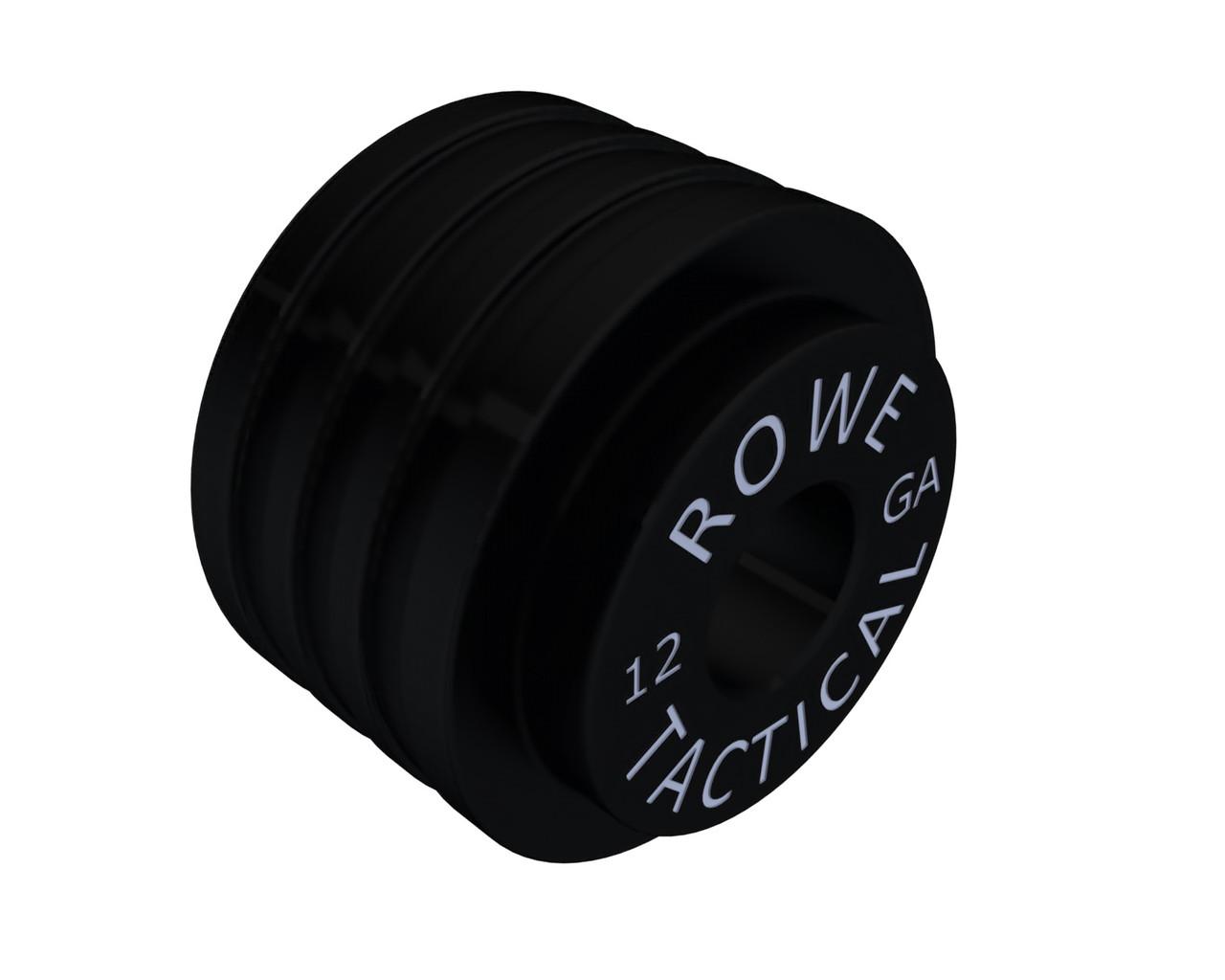 Rowe Tactical Mossberg 500 590 Shotgun Magazine Follower 12ga Low-Drag - Black