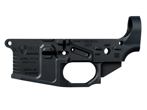 Rowe Tactical RT1-A1 Stripped Billet Lower Receiver 5.56/.223