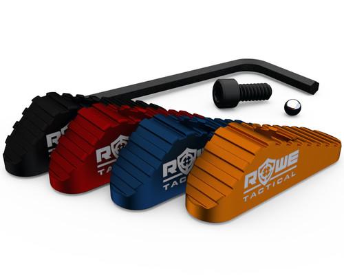 Rowe Tactical Mossberg 500 590 835 930 Slide Safety Mag Follower Kit 12GA Black