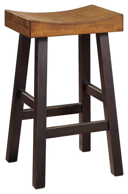 Glosco Tall Stool | Medium Brown/Dark Brown | D548-030
