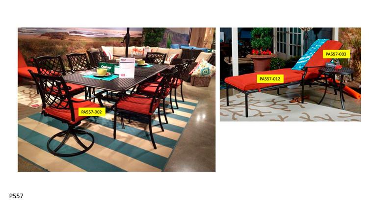 Tanglevale Seat Cushion | Burnt Orange | PA557-002