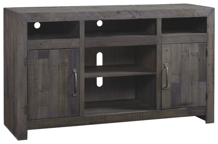 Mayflyn LG TV Stand w/Fireplace Option | Charcoal | W729-68