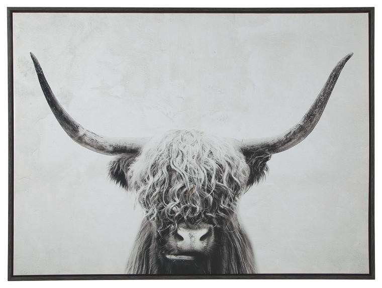 Pancho Wall Art   Black/White   A8000258