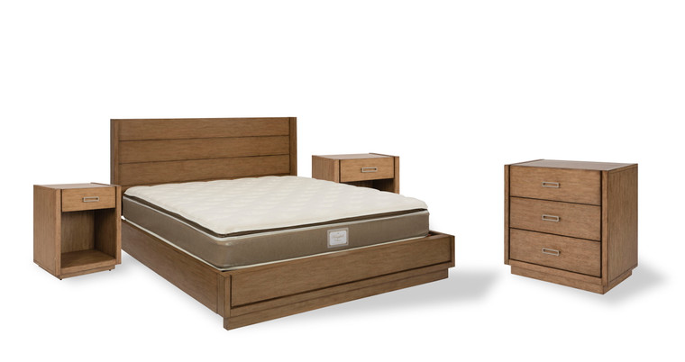 Montecito King Bed, Two Nightstands and Chest   5506-6021