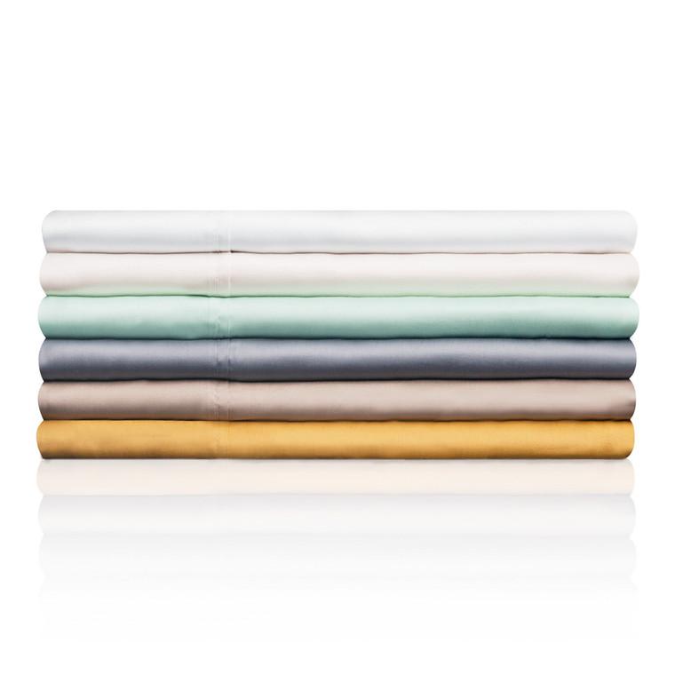 TENCEL Queen Pillowcase White