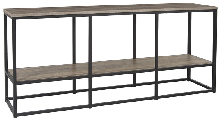 Wadeworth Extra Large TV Stand | Brown/Black | W301-10