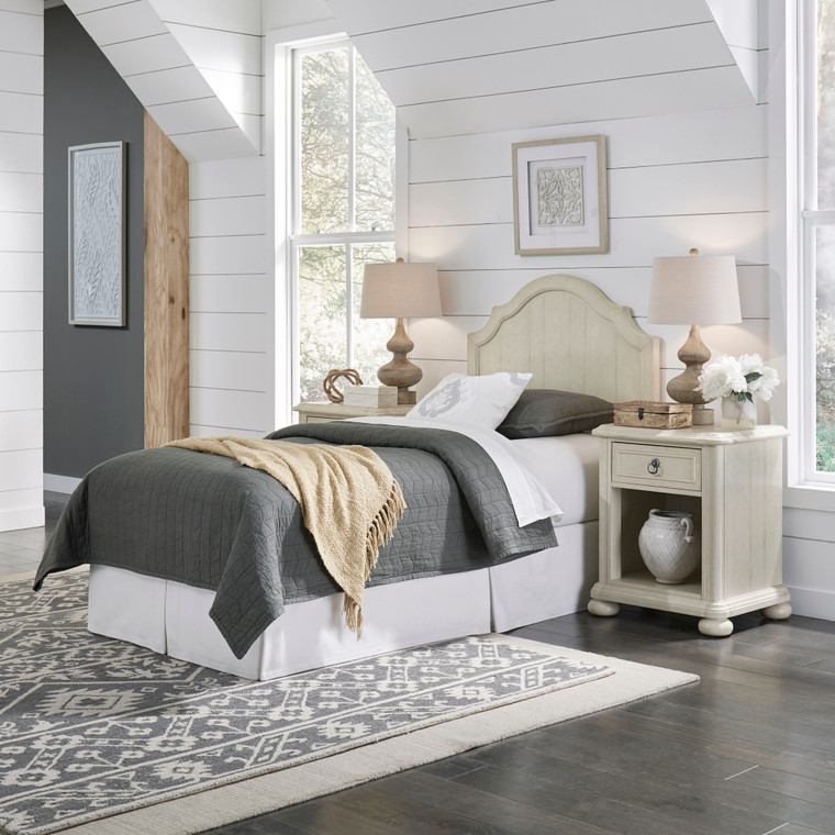 Chambre Twin Headboard and Two Nightstands   5502-4015