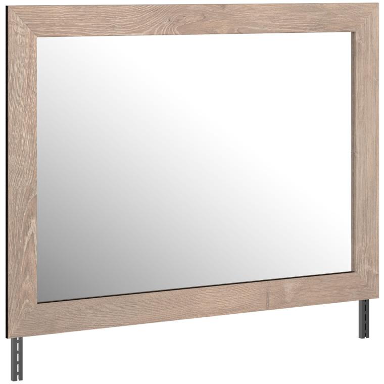 Senniberg - Light Brown/White - Bedroom Mirror