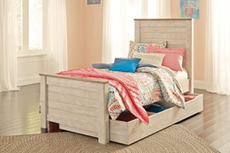 Willowton Under Bed Storage | Whitewash | B267-60