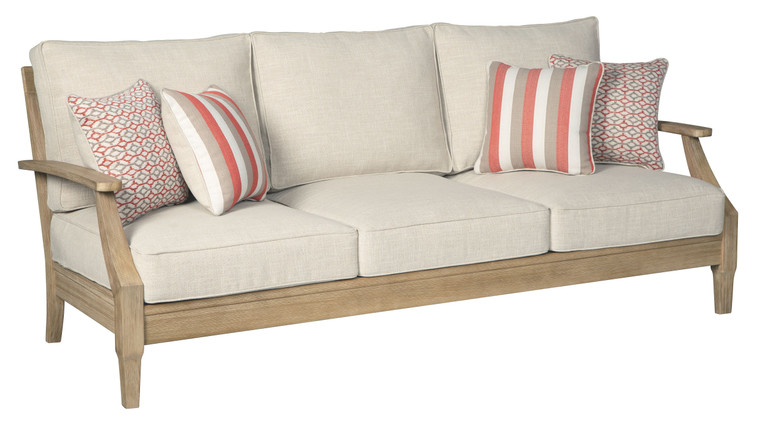Clare View Sofa with Cushion | Beige | P801-838