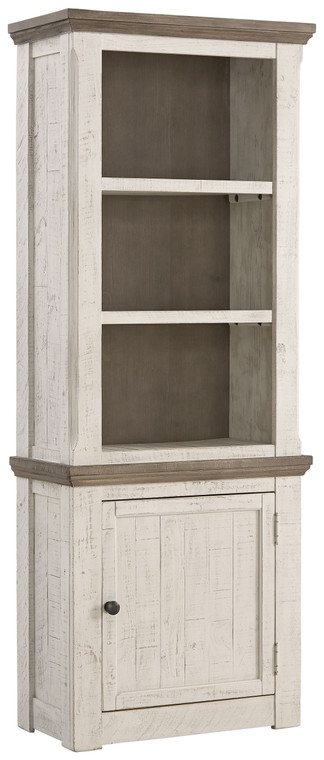 Havalance Right Pier Cabinet | Two-Tone | W814-34
