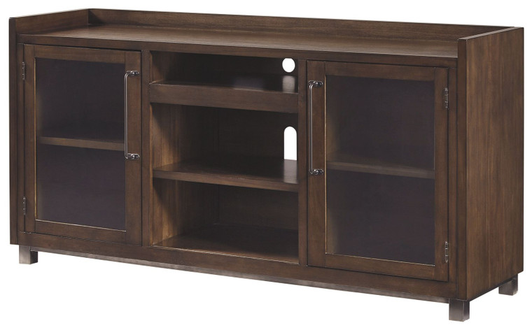 Starmore XL TV Stand w/Fireplace Option | Brown | W633-68