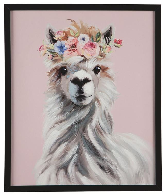 Josie Wall Art | Pink/White/Gray | A8000186