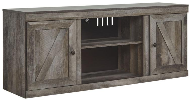Wynnlow LG TV Stand w/Fireplace Option | Gray | EW0440-168