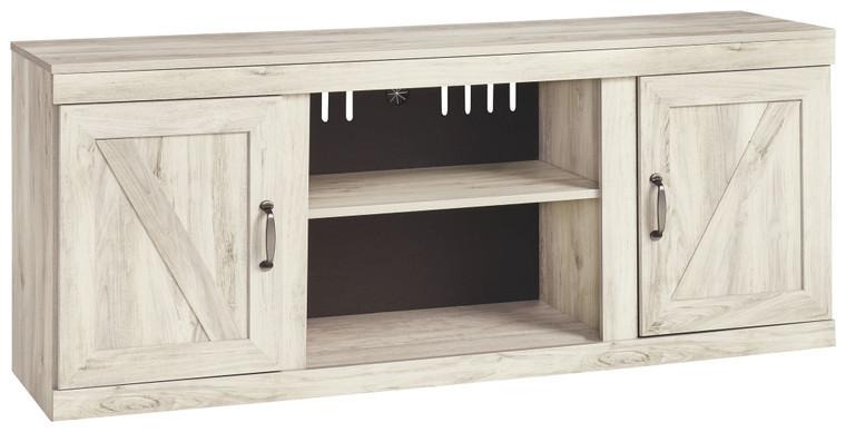 Bellaby LG TV Stand w/Fireplace Option | Whitewash | EW0331-168