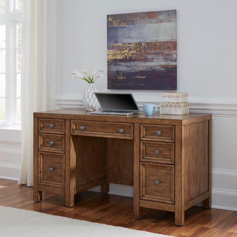 Tuscon Pedestal Desk | 5420-18