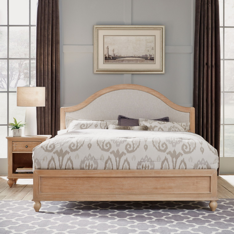 Claire King Bed and Nightstand | 5170-6020
