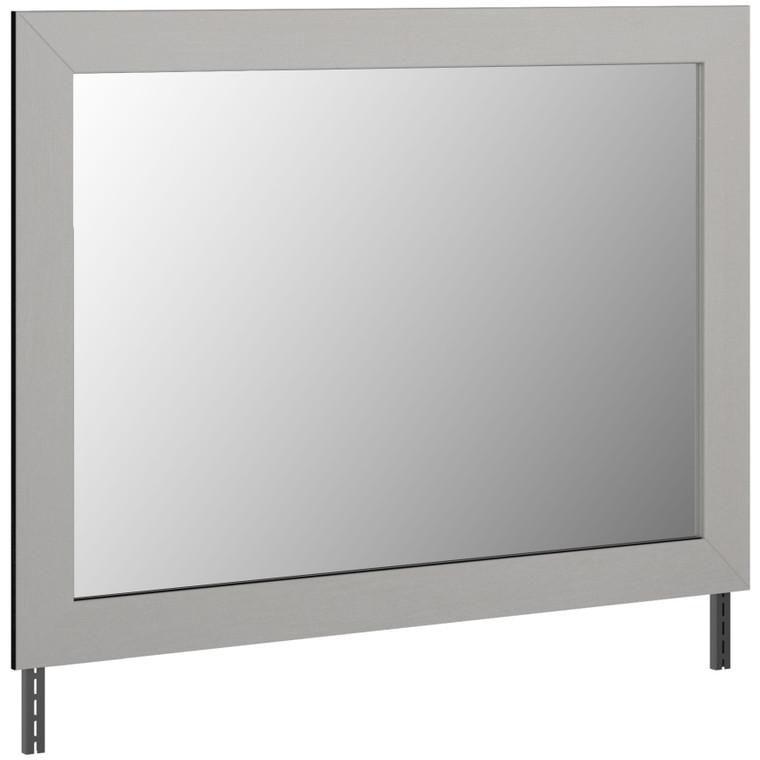Cottonburg - Light Gray/White - Bedroom Mirror