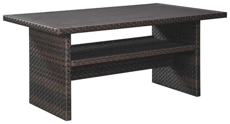 Easy Isle RECT MultiUse Table | Dark Brown/Beige | P455-625