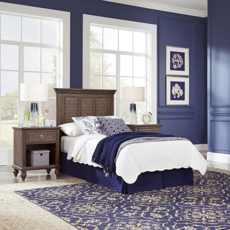 Marie Twin Headboard and Two Nightstands | 5503-4015