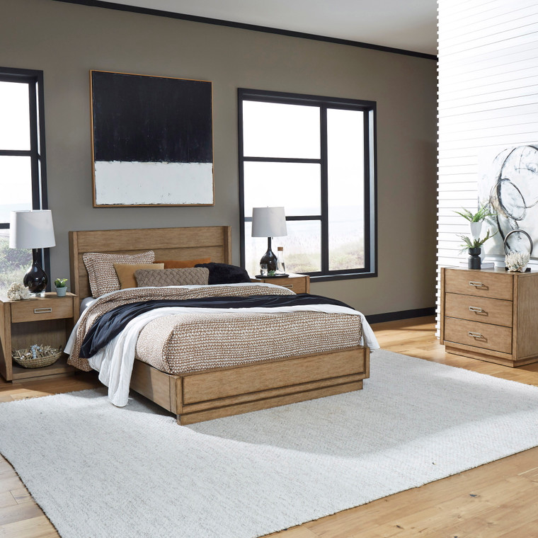Montecito Queen Bed, Two Nightstands and Chest | 5506-5021