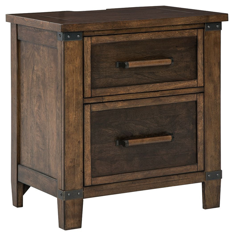 Wyattfield Two Drawer Night Stand | Two-Tone | B759-92