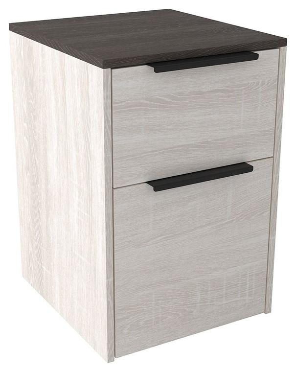 Dorrinson File Cabinet | Two-Tone | H287-12