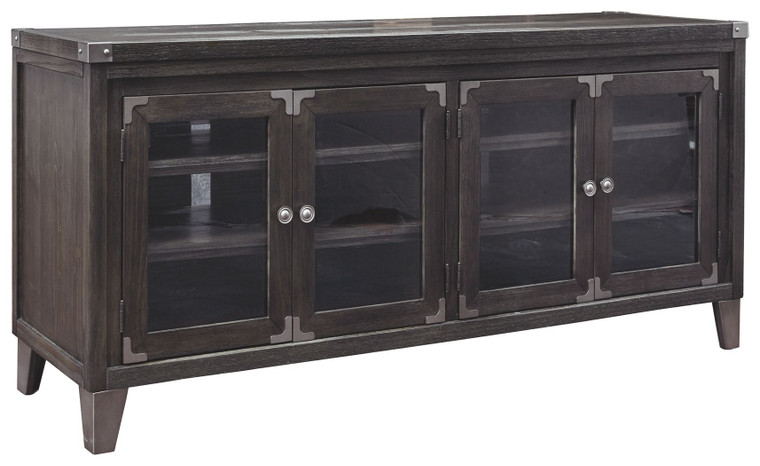 Todoe Extra Large TV Stand   Gray   W901-60