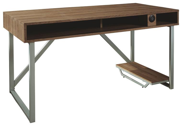 Barolli Gaming Desk | Gunmetal | H700-26