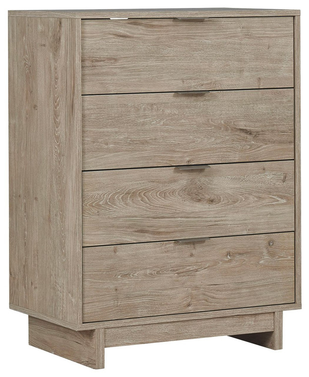 Oliah Four Drawer Chest | Natural | EB2270-144