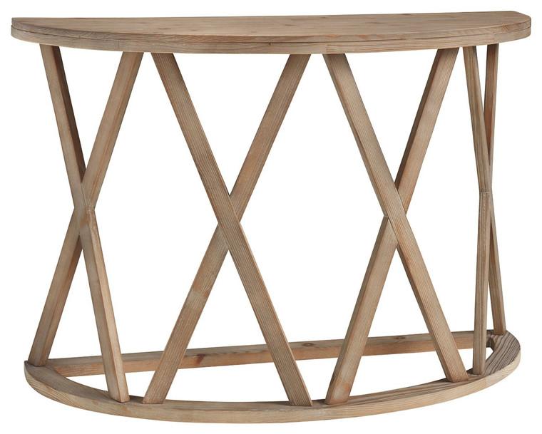 Glasslore Sofa Table | Light Grayish Brown | T921-4