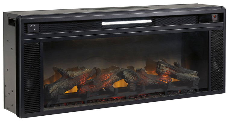 Entertainment Accessories Fireplace Insert | Black | W100-12