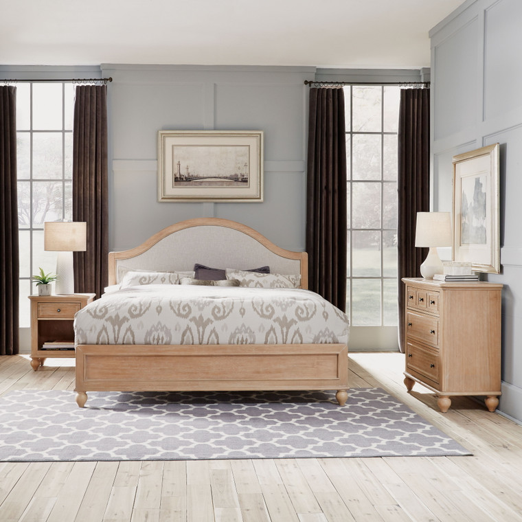 Claire King Bed, Nightstand and Chest | 5170-6021