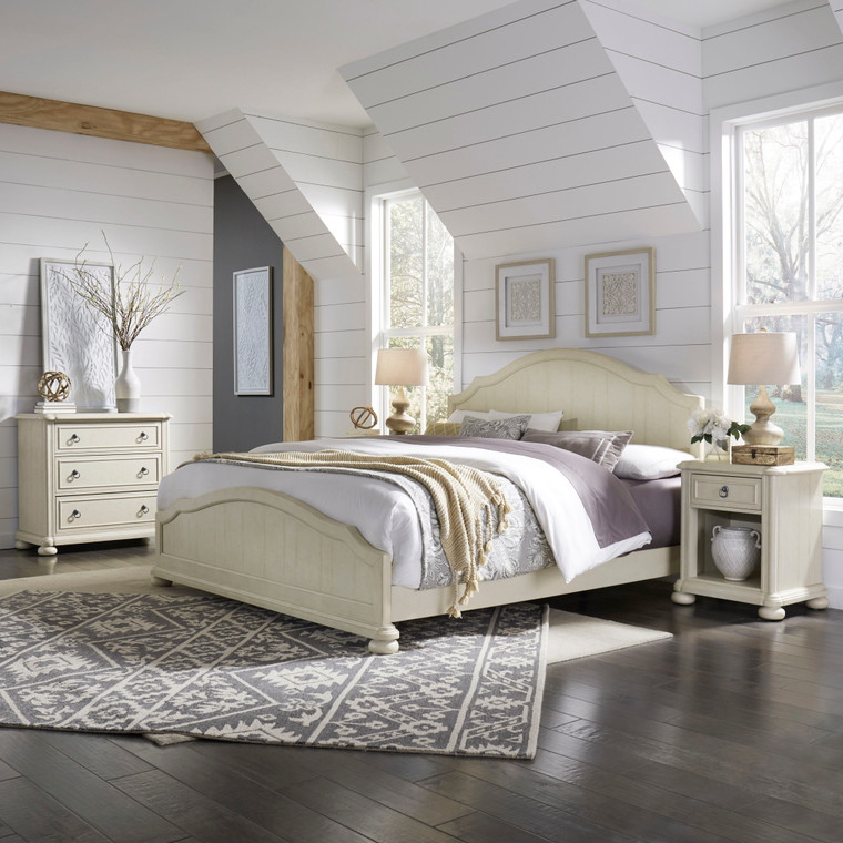 Chambre King Bed, Nightstand and Chest | 5502-6021