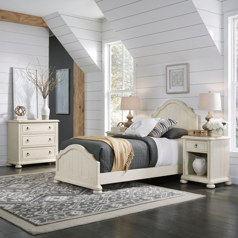 Chambre Twin Bed, Nightstand and Chest | 5502-4021