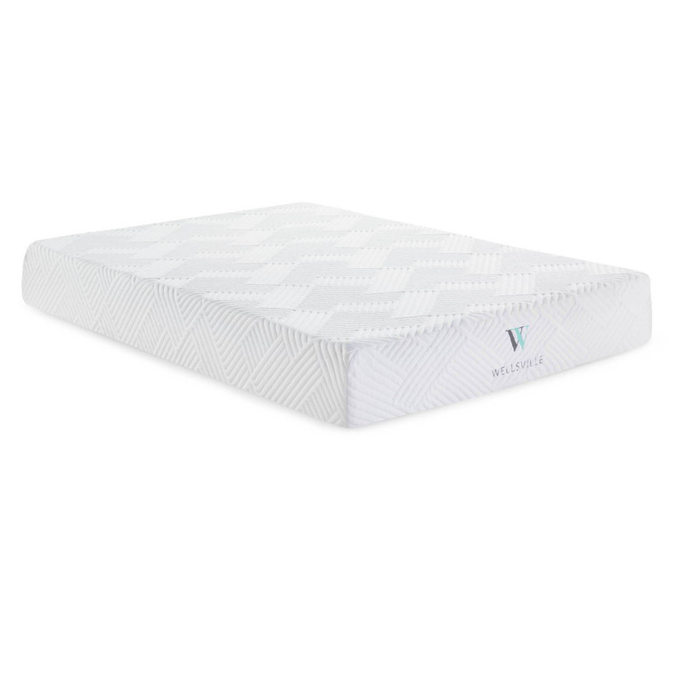 Wellsville 11 Inch Gel Foam Mattress Split Queen