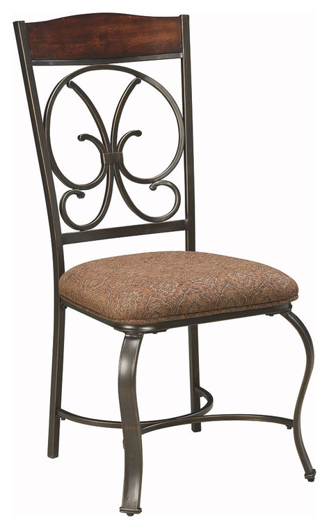 Glambrey Dining Side Chair | Brown | D329-01S