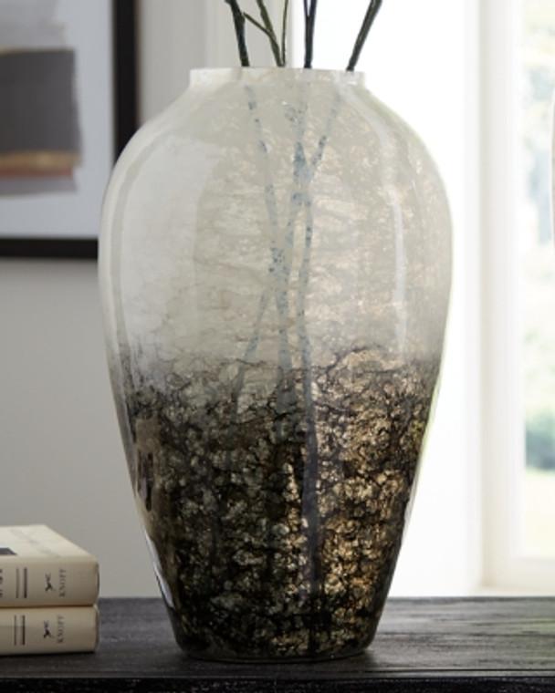 Mirielle Vase | White/Gray | A2000413