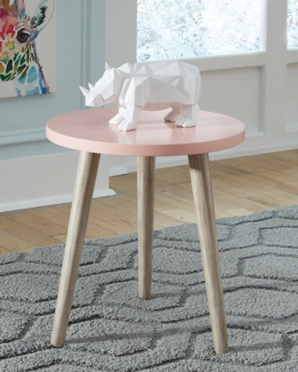 Fullersen Accent Table | Pink | A4000342
