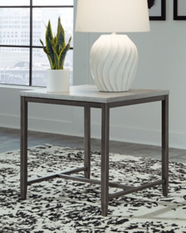 Shybourne End Table | Light Gray | T250-2