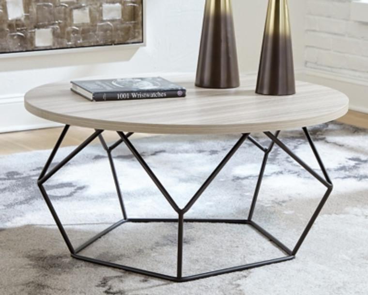 Waylowe Coffee Table   Light Brown/Black   T274-8
