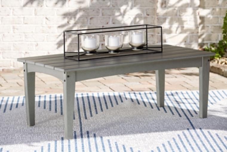 Visola Outdoor Coffee Table | Gray | P802-701