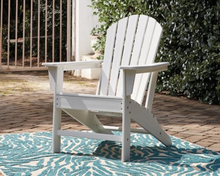 Sundown Treasure Adirondack Chair   White   P011-898