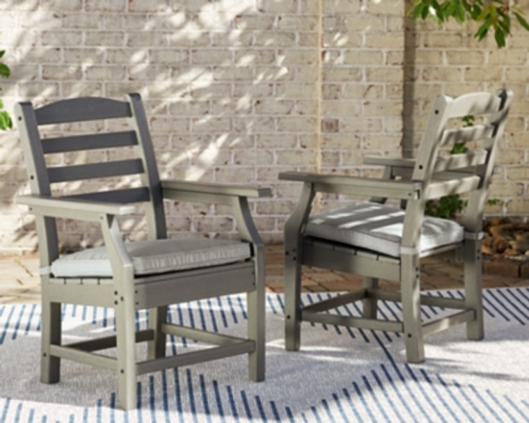 Visola Arm Chair with Cushion   Gray   P802-601A