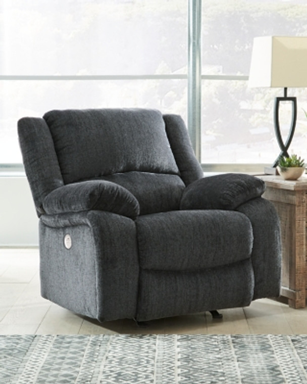 Draycoll Power Recliner | Slate | 7650498